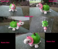 Green Apple the Tortuga by Kame-ami