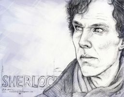 Sherlock by FrauAubrey