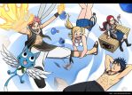Fairy Tail Free Fall by Blue-Ten