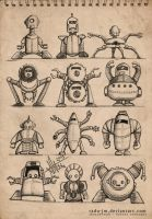 Sketchbook ROBOTZ Concepts 4 by radu-jm