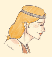 Aveline warmup by kamidoodles