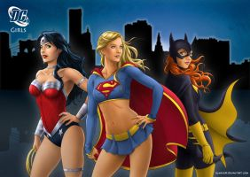 DC Girls by Almayer