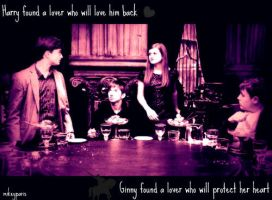 Harry + Ginny: found a lover by MIKEYCPARISII