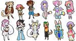 : : Chibis 01 : : by LittleMacarons