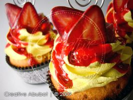 Faux Strawberry Cheesecake 02 by CreativeAbubot