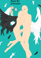 Base: Angel Couple by JoyKaiba