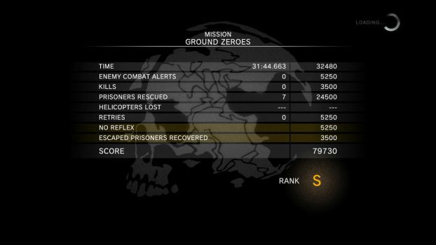 Metal Gear Solid V - Ground Zeroes Best Run by WilHiteWarrior