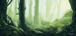 Environment  : Forest by TapaReeT