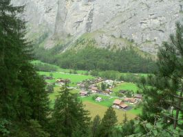 a small swiss village by Mysteriouspizza