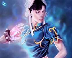 Chun Li by Glass-Owl