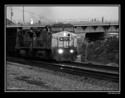 CSX 9049 at PGH by yankeedog