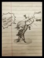 The Hunger Games doodle by MauricesMoon