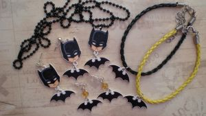 Batman Jewelry Lot by SugarTrip