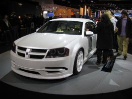 Dodge Avenger-Front+Some Side- by IchibanWolf