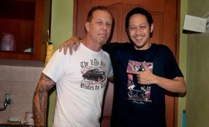 James Hetfield And Me by TOYIB