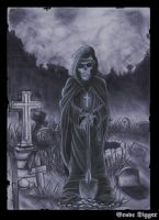 The Grave Digger by Giosuke