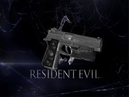 RE6 JAKE'S GUN by Oo-FiL-oO