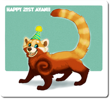 Happy Birthday Avanii! by calistamonkey