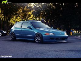 Honda Civic EG6 by daveezdesign