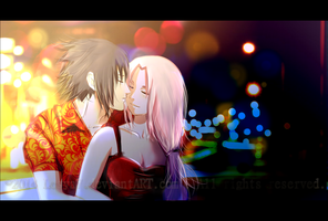 SasuSaku: Night Date by Lesya7