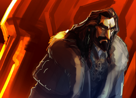 Thorin Okenshield  ( quick warm up) by Gilmec