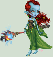 Iamshannon the Troll Priest by Odyrah