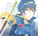 Fire Emblem - Marth by PassionateWolf