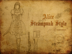 Alice Steampunk Style by ergoproxy92