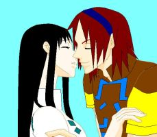 mono and wander kiss by rikuxrikku4ever