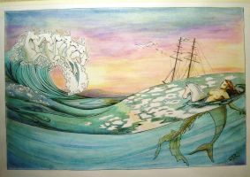 Twixt Tide and Tides Returning by calmllama
