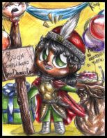 Happy Birthday LadydarknessObscure - Chibi Dracula by FuriarossaAndMimma