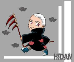 Chibi Hidan by darkgal666