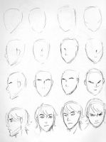 head doodles by Meibatsu
