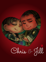 Chris and Jill by Captain1Yazeed
