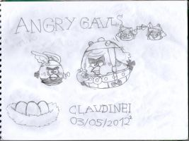 Angry gauls by claudinei230