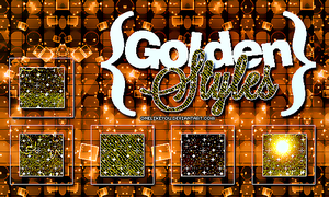 Golden Styles Glitter! by ItsBreakdown