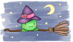 the witchy pea by iyru