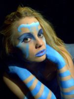 Beauty in Blue 002 by crumpstock