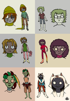 My Zombies by nuttycoon