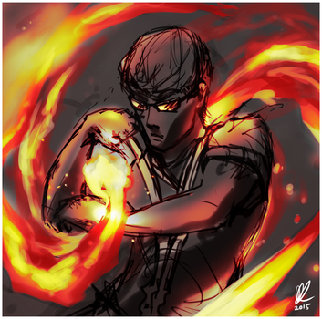 Fire Bender! by TeHP1nkSh33p