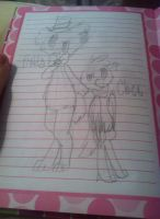 Freddy and chica doodle by ghostiibear