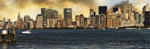 I Miss New York III-Panaroma- by PortraitOfaLife