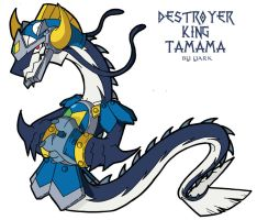 Destroyer Dragon Tamama by Yark-Wark
