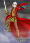 The Prince in the Scarlet Robe by ArtistMeli