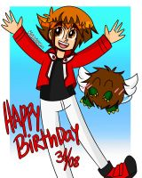 Happy Birthday Judai by Kamylove