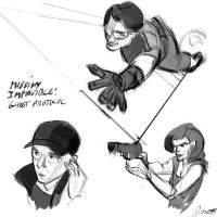MI: Ghost Protocol Sketches by jerseycajun