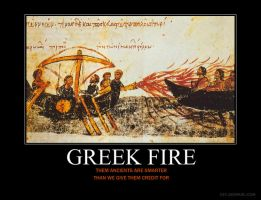 Greek Fire Motivational by HC-IIIX