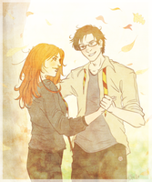 Seventh Autumn: Lily + James by Avender