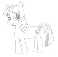 Mah attempt to draw ponies XP by TheWanderer93