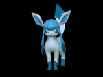 Angry Glaceon by riolushinx